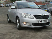 Skoda Fabia 1.2TDI CR ( 75bhp ) Greenline II DIESEL CHEAP ROAD TAX