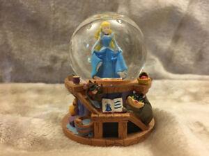 Disney Snow globes - Cinderella and Winnie  the Pooh