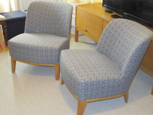 Elegant Ikea Stockholm Easy Chairs - 2 chairs - High Park area