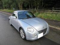 2004 '04' DAIHATSU COPEN 0.66 ROADSTER ONLY 52,000 MILES SILVER
