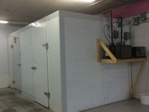 Commercial Combo Walk-in Cooler & Freezer for sale