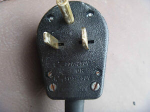 CONSTRUCTION HEATER CORD AND PLUG