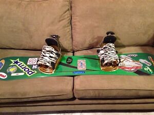Classic Flow Bindings with beater board