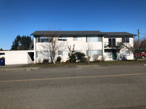 One  bedroom apartment near downtown Courtenay