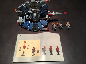 LEGO Star Wars 8086 Droid Tri-Fighter 100% Complete