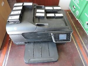 HP Officejet 6600 printer + extra black inks and colour inks London Ontario image 4