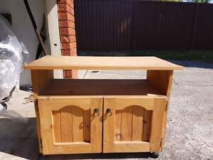 Small timber TV unit Strathfield South Strathfield Area Preview