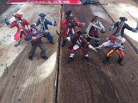 Pirate toy figures
