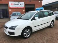 2005(55) Ford Focus Estate 2.0 Zetec Climate, White, **ANY PX WELCOME**