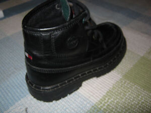 Tommy Leather boots (size 12 in kids) Great for Fall St. John's Newfoundland image 3