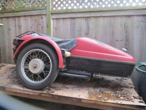 Motorcycles/wsidecar for sale