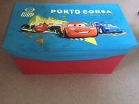 Cars storage box and seat