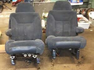 1998 Chev Bucket Seats & Rear Seat  $200.00 for all - blue