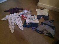 Boys bundle 0-3 3-6 months