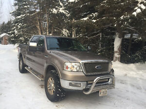 2005 4x4 Loaded Ford Lariat Crew Cab LEATHER