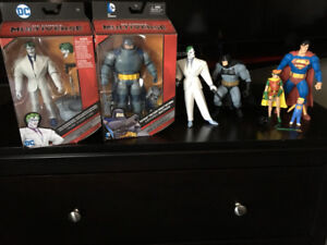 batman dark knight returns loose set and two boxed figure $40.00