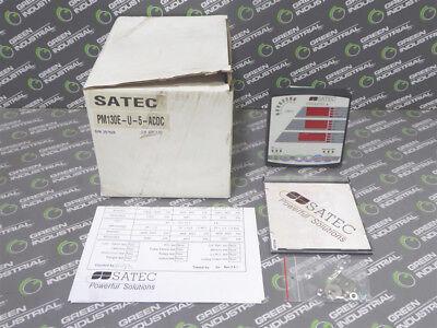 New Satec Pm130e-u-5-acdc Truemeter Multifunctional Power Meter