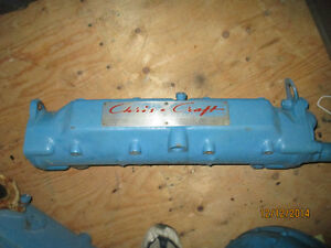 Chris Craft  Ford 427 manifold, circulation pump and other parts