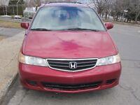 2003 Honda Odyssey Full load