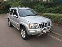 Jeep Grand Cherokee 2.7 crd 2005 staition wagon 4x4 £1995
