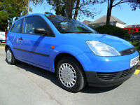 FORD FIESTA 1.2 2003 55000 MILES COMPLETE WITH M.O.T HPI CLEAR INC WARRANTY