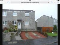 1 bed end terrace house Caprington, Kilmarnock £395 PCM