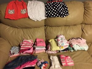 12 months baby girl clothing lot