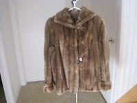 """Beau manteau de rat musqué """" Vintage"""""""