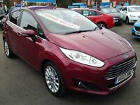 2013 FORD FIESTA 1.6 TDCi Titanium X HALF LEATHER