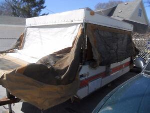1977 Bon air pop up tent camper