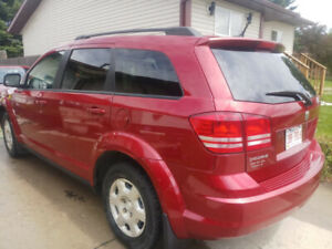 Dodge Journey 2010  Red