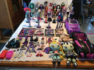 Monster high divers