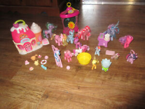 my little pony sweetshop and ponies
