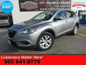 2014 Mazda CX-9 GS  AWD (NEW TIRES) NAV LEATHER ROOF CAM HS POWE