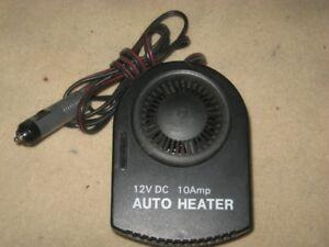 12 Volt 10 Amp CAR HEATER
