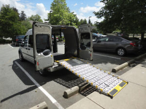 Van With Wheelchair Ramp. Hold Downs, & Seat belt.