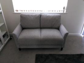 Small 2 Seater Sofa Grey