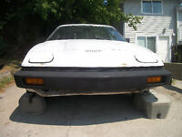 Recently Medically Released Veteran Selling 1977 Triumph TR 7