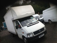 Volkswagen LT35 Luton van ryder body with full closing tail lift 3.5 ton 2.5 tdi