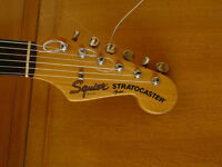 Old Squier Stratocaster