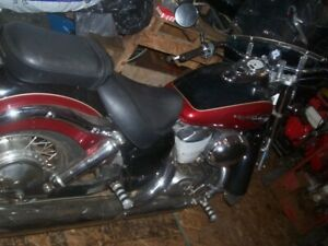 2001 Honda Shadow Ace 750cc only 17,000kms/ +  other toys