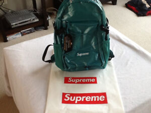 Authentic Supreme Backpack Dark Teal