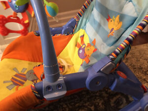 Baby vibrating chair and rocker