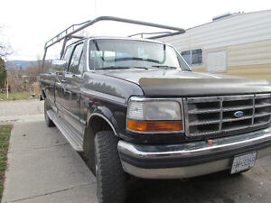 1992 Ford F-250 XLT Pickup Truck Trailer Special