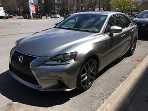2016 Lexus IS 300 AWD sport 2 with navigation