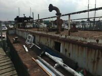Oil Barge to Convert - Contractor