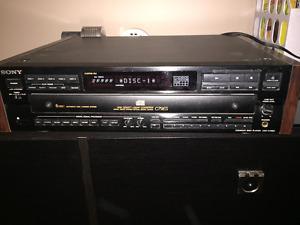 Lecteur 5 disques SONY C79ES 5 CD player