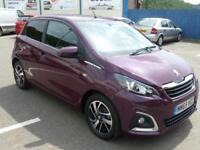 2015 PEUGEOT 108 PURETECH ALLURE ** ZERO TAX £0 PURPLE ** HATCHBACK PETROL