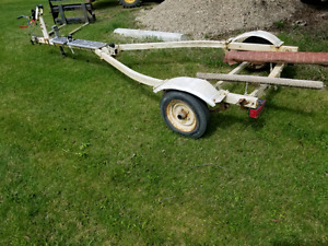 Easy loader boat trailer