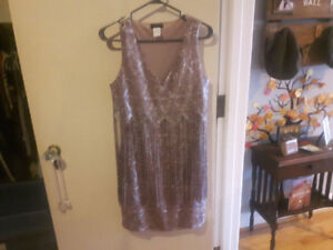 Champagne Sparkly Dress! Mint CONDITION!